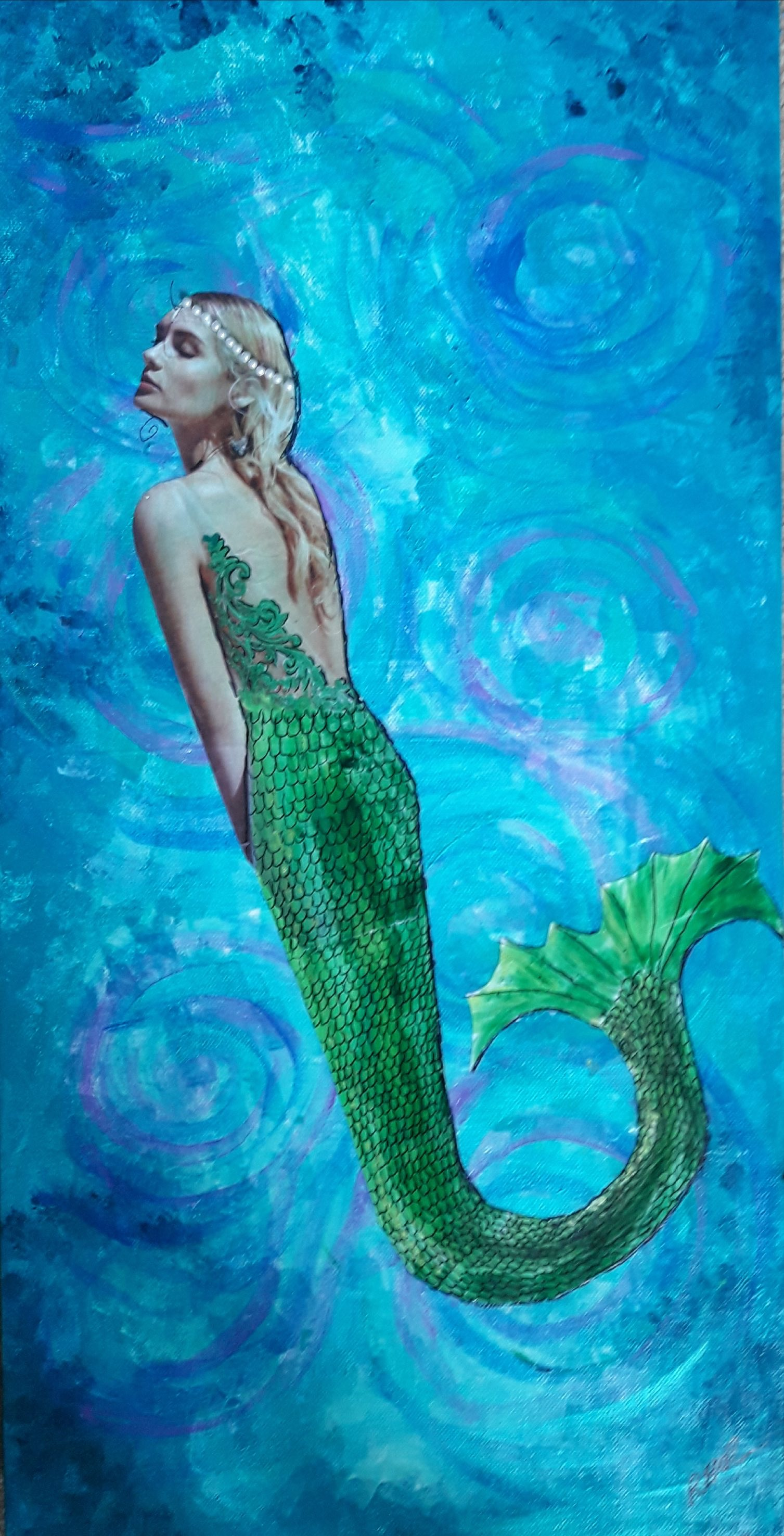 Mermaid Art - Water Spirit