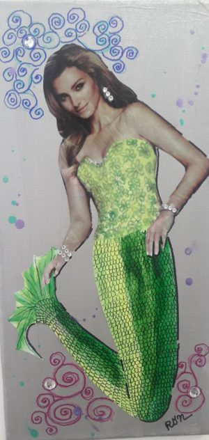 Treasure Mermaid artwork for beach house