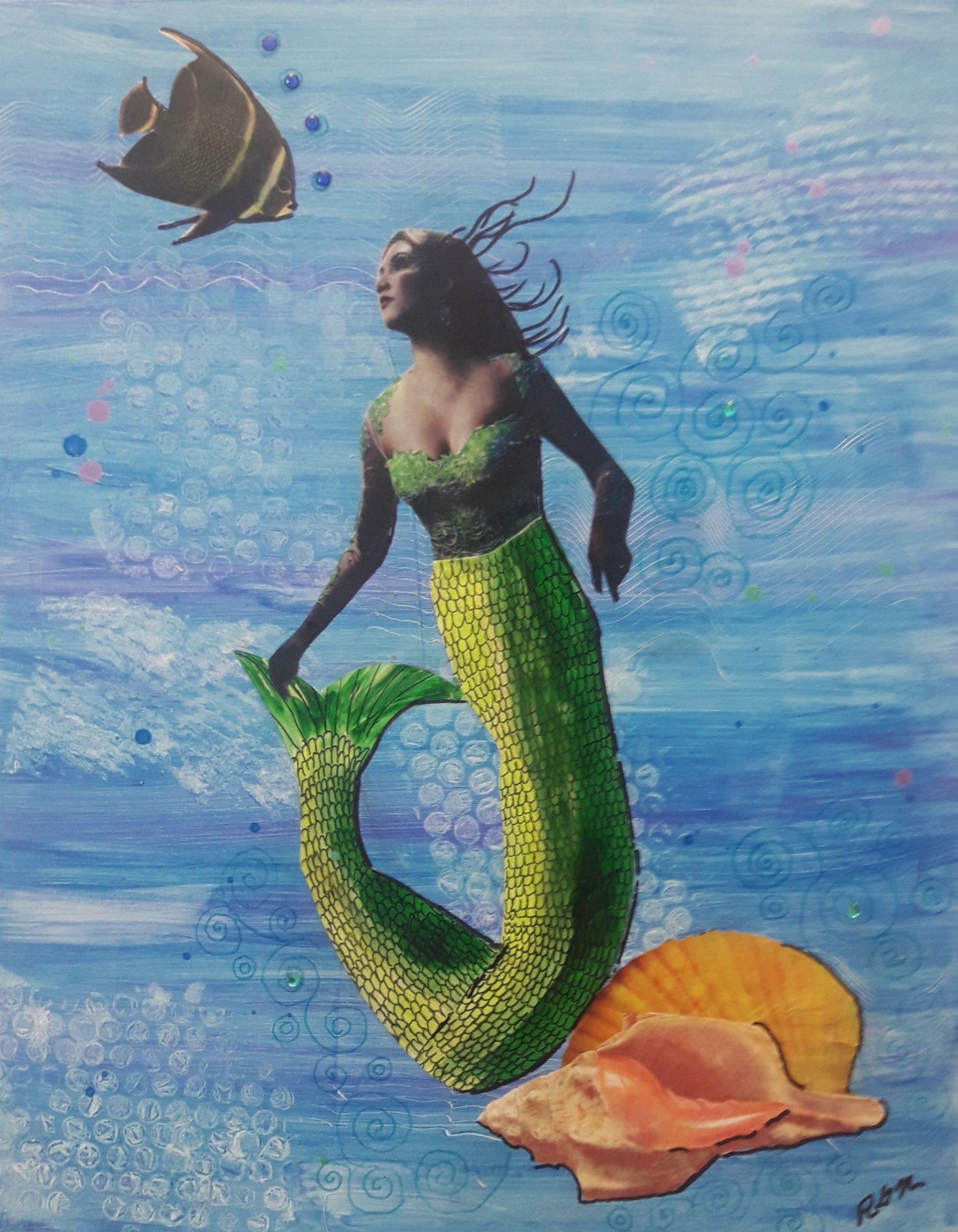 My Little Angel Mermaid Artwork